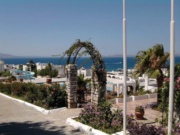 Bungalow right by the Sea of Bodrum Akyarlar