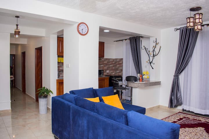 Cozy 3BD/2BTH Apartment in Kampala, close to city