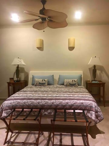Second king sized bedroom suite located on second floor. All bedrooms have private balcony and private en-suite bathroom.