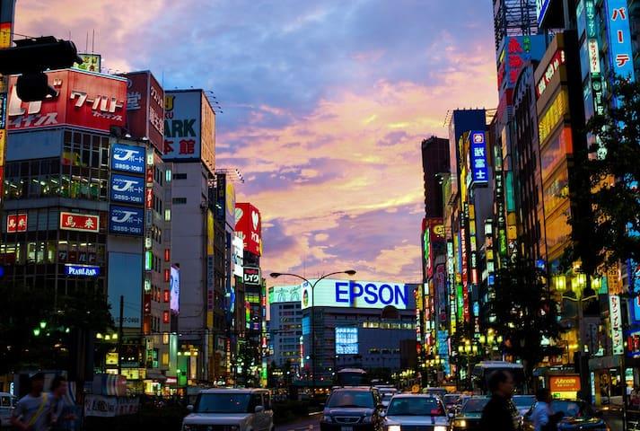 1mins from Higashi-nakano,Shinjuku, - Nakano-ku - Daire