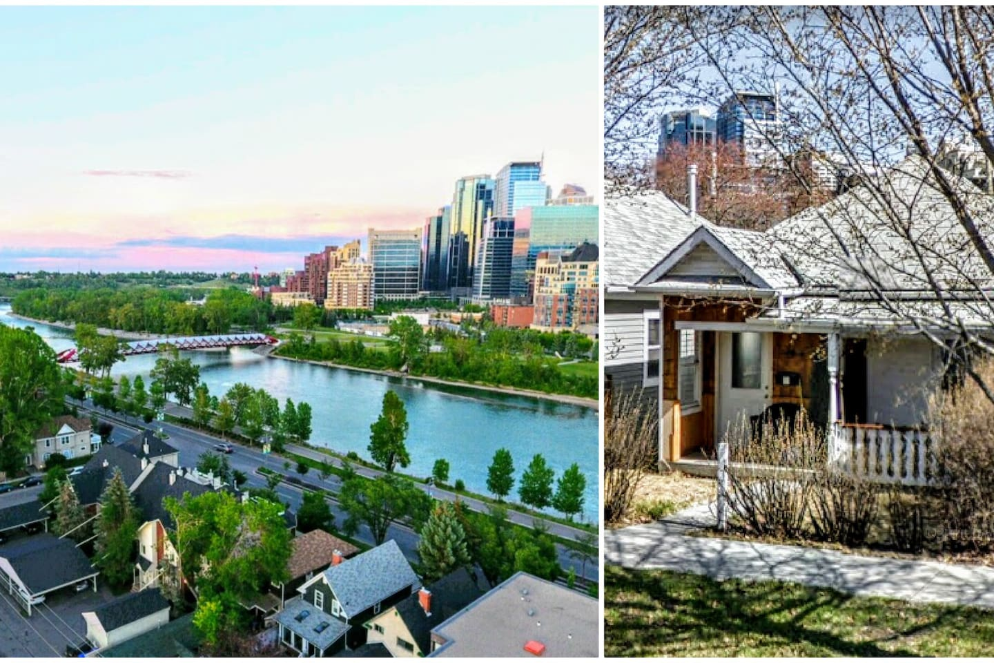 Located steps from the Bow River, Kensington and Downtown