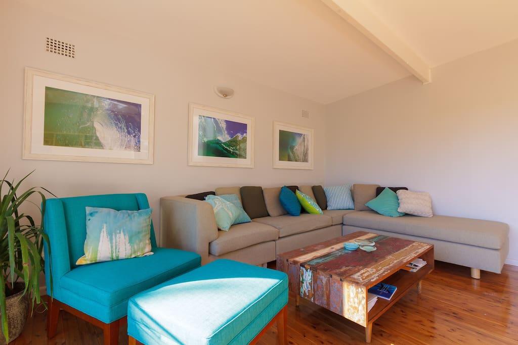 Light, spacious living room