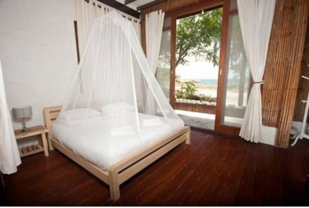 Sea view from your bed.
