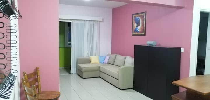 Cozy apartment at Platy, Aglantzia