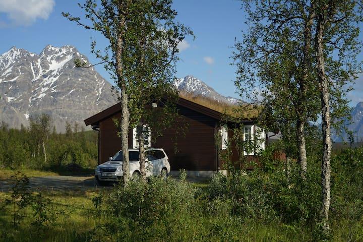 Lyngen, modern roomy cabin - Svensby