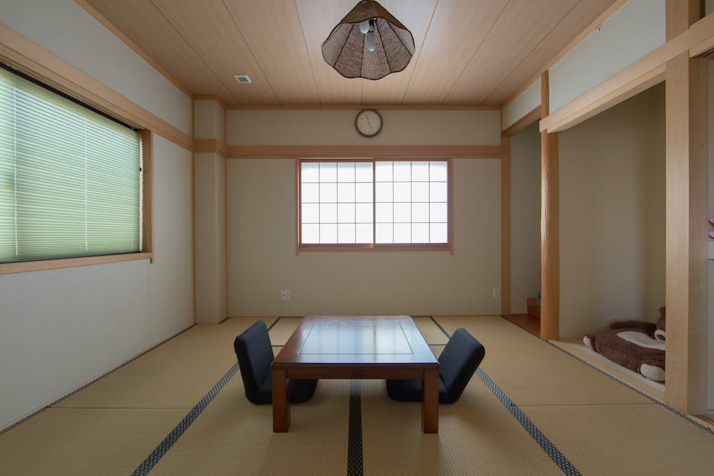Tatami room Japanese tradition