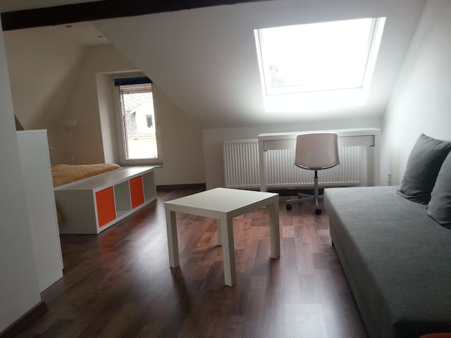Private room with private bathroom - Pétange - Dom