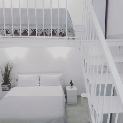 Particolari della camera da letto