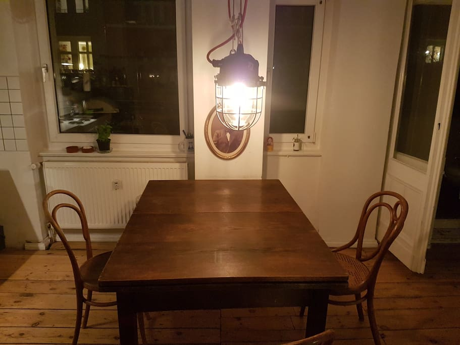 Industrial Style Lamps / Dining Table