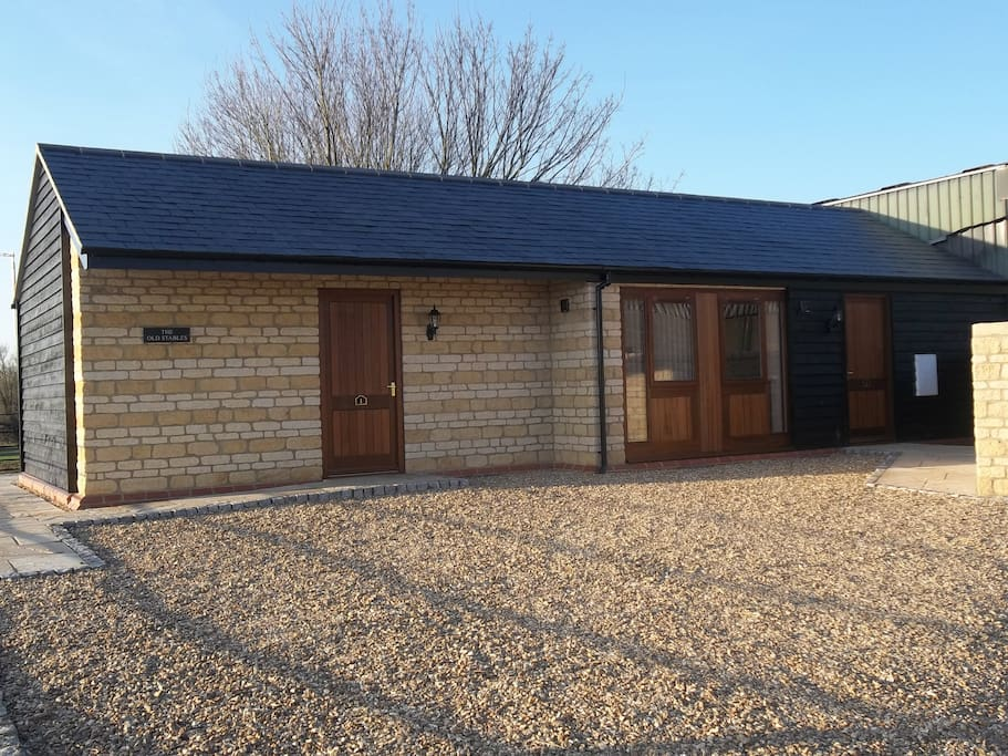Our newly converted stables - now two studios.