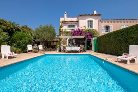 Cannes romantic luxury villa w/pool