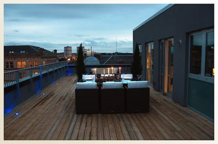 Luxury Penthouse Apartment,Glasgow