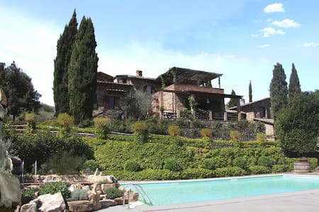 MAIN HOUSE - Castellina In Chianti - Villa