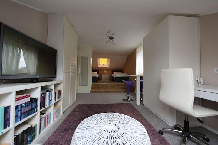 Gemütliches Apartment mit Miniküche - Paderborn - Bungalow