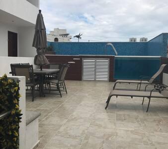 Dpto. c/alberca excelente ubicación - Boca del Río