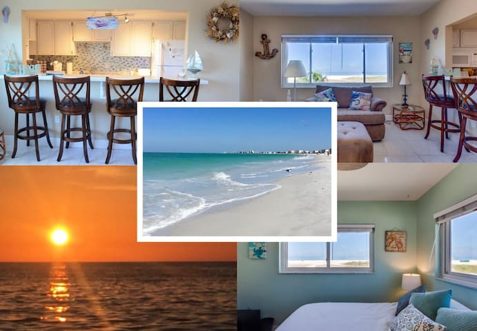 Beachfront w/ Stunning Sunsets in Prime Location.