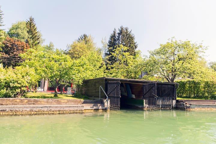 Badehaus & Boot Sattnitz Klagenfurt - Klagenfurt am Wörthersee - Haus