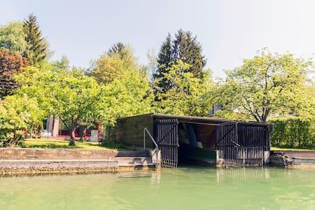 Badehaus & Boot Sattnitz Klagenfurt - Klagenfurt am Wörthersee - Rumah