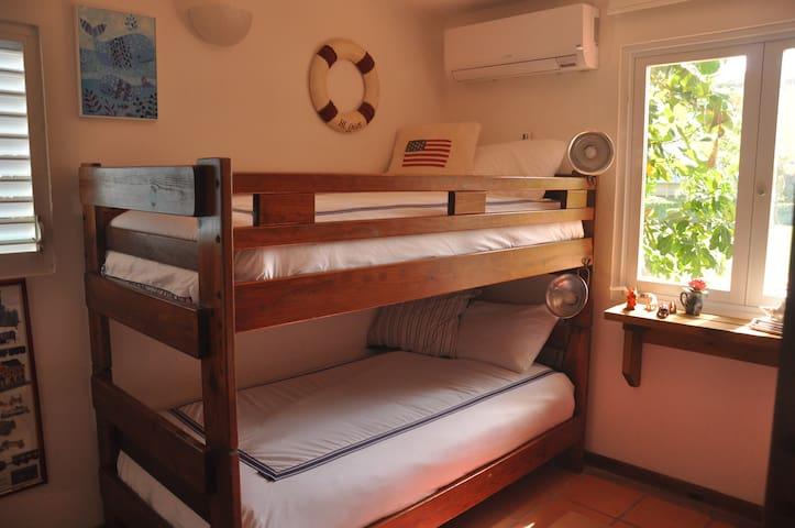 Bedroom #4 Bunk Beds