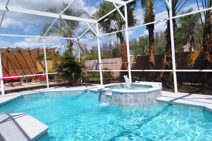 Private studio: Kissimmee Pool home - Kissimmee - Ev