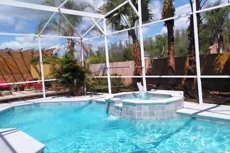 Private studio: Kissimmee Pool home - Kissimmee - Haus