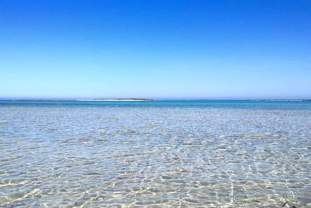 La spiaggia: San Isidoro