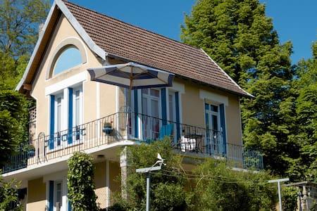 C'est une maison bleue… - Creuzier-le-Vieux
