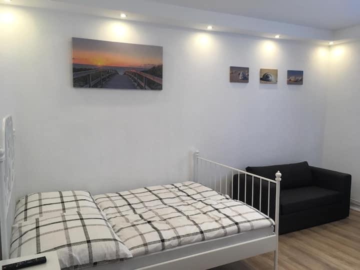 1-Zimmerappartment im Erdgeschoss