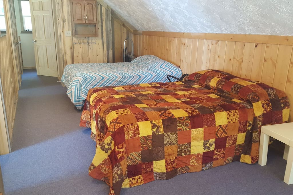 One of your beds in the loft!