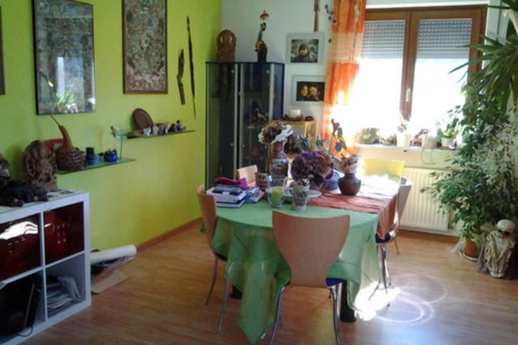Die Wohnküche - ein Traum der Gemütlichkeit
