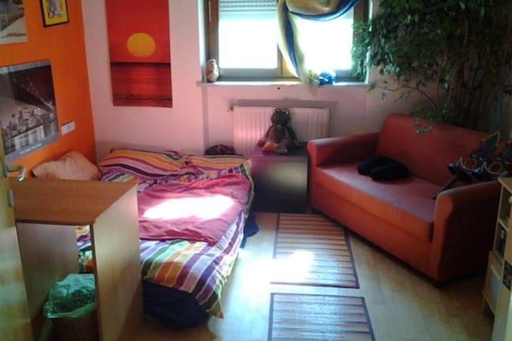 Daheim mitten im Grünen - mit Flair - Plaus - Apartamento
