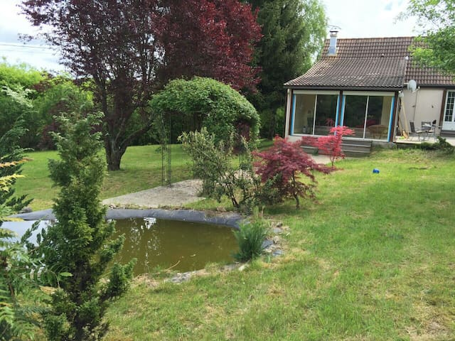 CHARMEING PROPERTY WITH BIG GARDEN, QUIET, PRIVACY