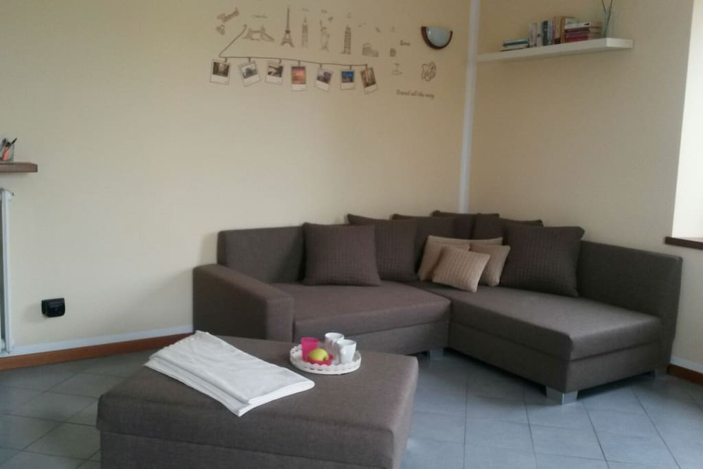 Living room and sofa / sofa bed