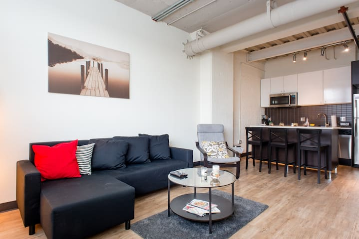 Luxury 1Bedroom Loft in East Cambridge/MIT/Harvard - Cambridge - Loft