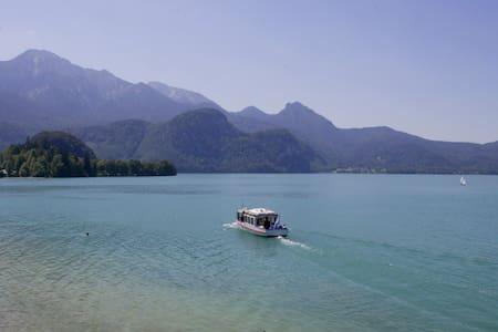 Ferienwohnung mit Seeblick - Kochel - Lakás