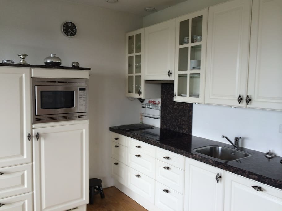 Kitchen with all supplies