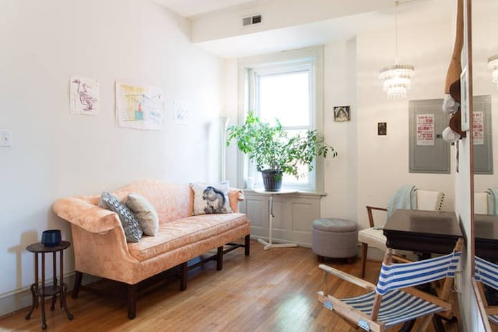 Sunny 2bed in vibrant West Philly - Philadelphia - Byt