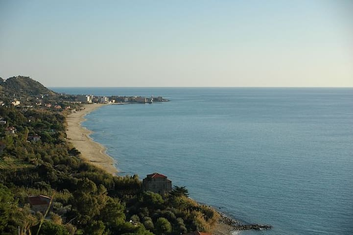 Panoramic villa near the sea - Acciaroli - Casa de camp