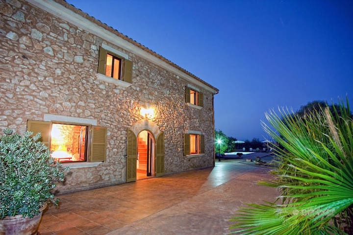 RURAL HOUSE 6 PEOPLE WITH POOL, WIFI AND TV SAT - Ses Salines - Casa