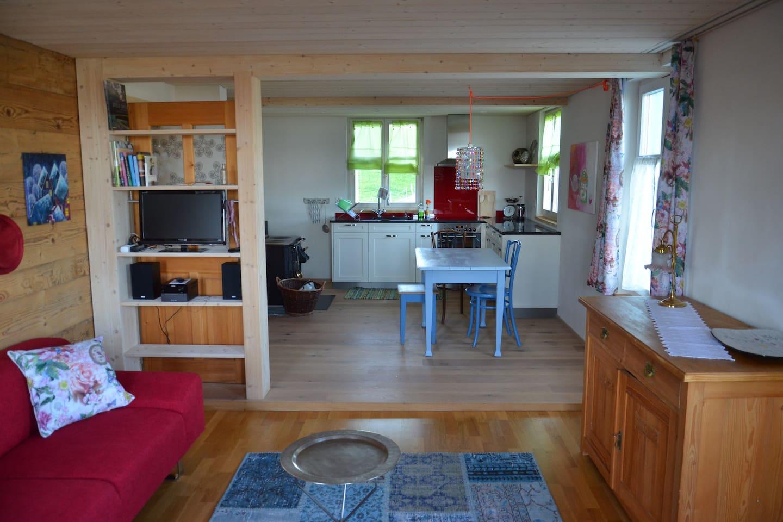 Wohn-, Küchenbereich