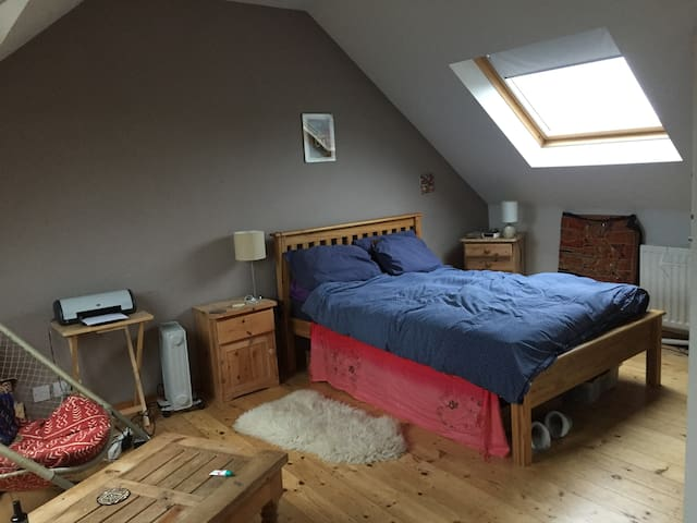 Large double bedroom with private bathroom - Newcastle upon Tyne - Haus