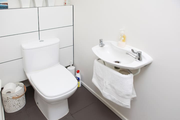 Guests own toilet