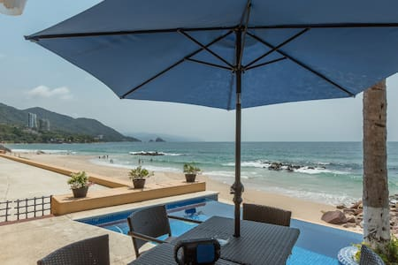 Private Beachfront Villa - Staffed - Puerto Vallarta