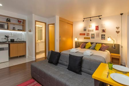 CE307 Charming flat in Jardins awesome!