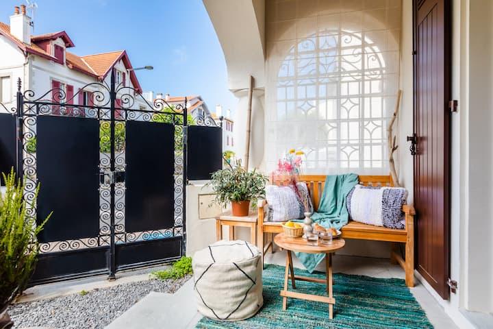 Villa Arkua -Ambiance bobo-chic pour cette sublime maison familiale !