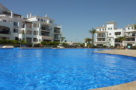 Ground floor apartment - huge pool - Sucina
