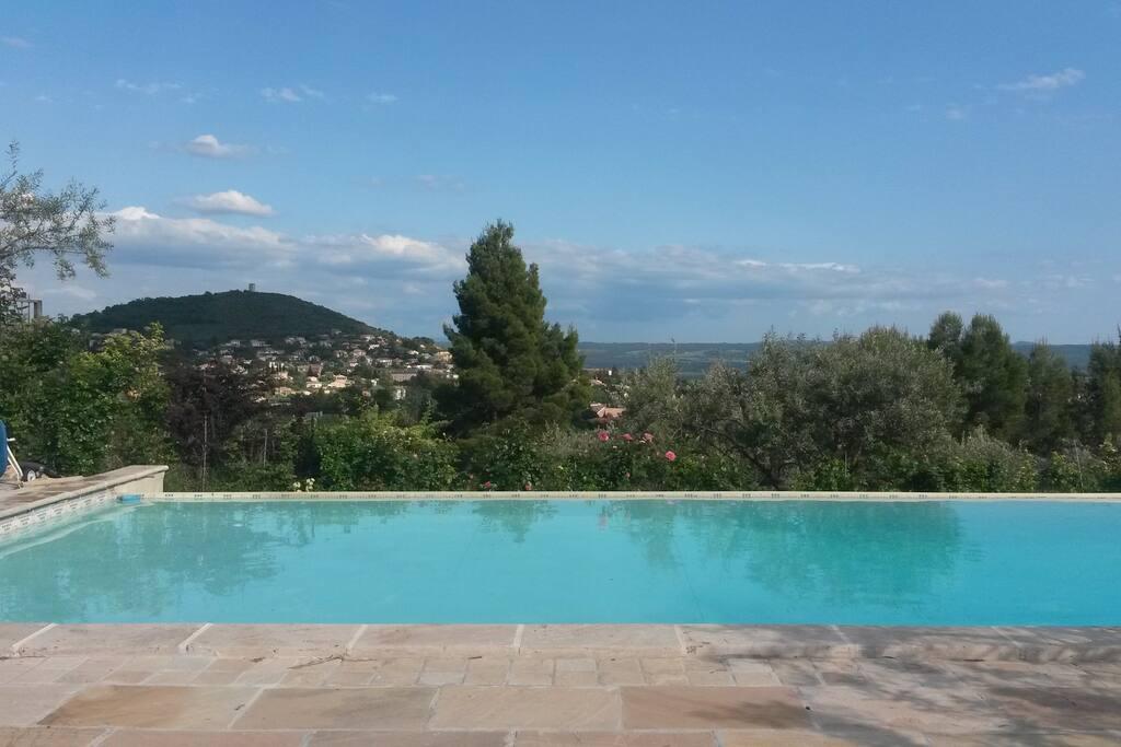 Villa proven ale piscine d bordement h user zur for Sims 4 piscine a debordement