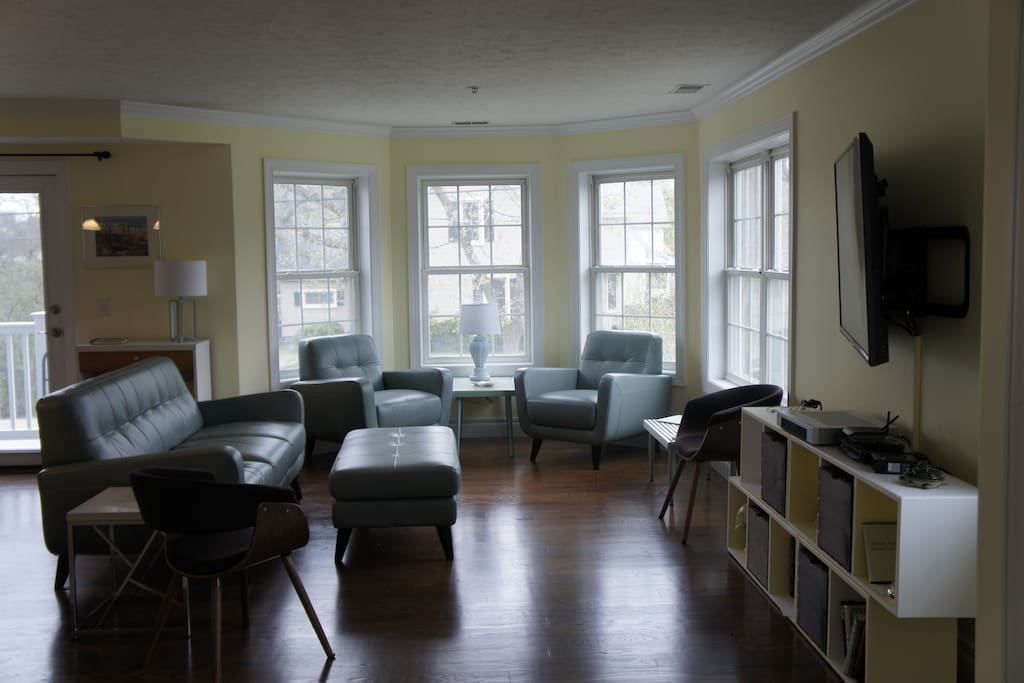Spacious newly furnished living room