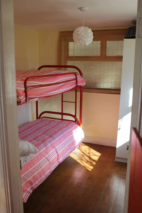 Bunk Room. Small but sunny.