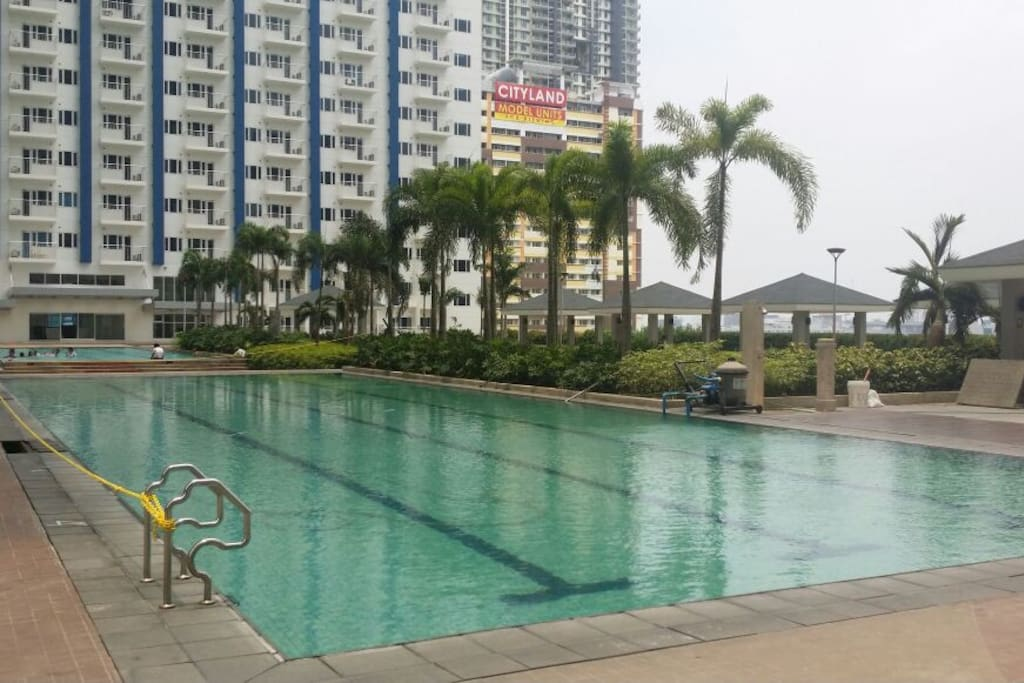 Swimming pool and amenities